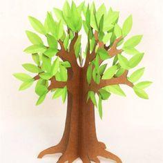 Fabriquer un arbre en papier