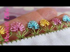 Son günlerin popüler iğne oyası modeli ** iğne oyası çiçek modelleri ** diy - YouTube