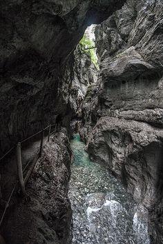The Gorge - Garmisch-Partenkirchen, Bavaria #Germany