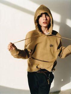 Звезда сериала Очень странные дела Финн Вулфард в фотосессии для I-D Magazine / 2017