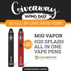 Help me win with this awesome giveaway from @Vaping_Daily