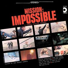 The Secret Agents - Mission: Impossible and Other Action Themes (1968)