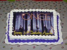 Once Upon A Time Birthday Cake! AWESOME!!