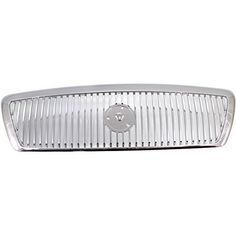 Evan-Fischer EVA17772028641 Grille for Mercury Grand Marquis 03-05 Chrome Monotone Replaces Partslink# FO1200406. For product info go to:  https://www.caraccessoriesonlinemarket.com/evan-fischer-eva17772028641-grille-for-mercury-grand-marquis-03-05-chrome-monotone-replaces-partslink-fo1200406/