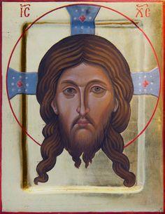 The Mandilion Christ - Aidan Hart Sacred Icons