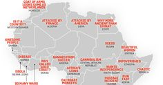 Map: China's Stereotypes of Africa, from 'Chaotic' Somalia to 'Awesome' Gambia