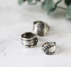 Turn old spoons into beautiful rings with this DIY Spoon Ring tutorial.