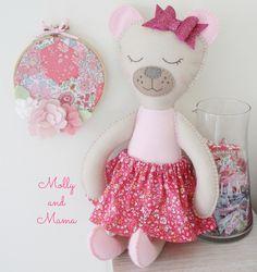 Sew a Bear Softee by Molly and Mama