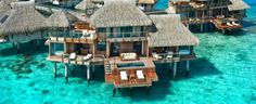 The World's Most Luxurious Overwater Bungalows - Jetsetter
