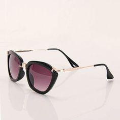 Óculos de Sol Proteção UVA UVB Feminino Acessórios by Passarela - Preto 5a808ba684