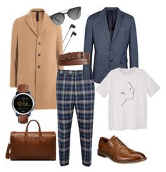 Smart casual by polystar-556 on Polyvore featuring MANGO MAN, Vivienne Westwood, Harris Wharf London, BOSS Black, Alfani, FOSSIL, Mulberry, 1901, Dolce&Gabbana and B&O Play