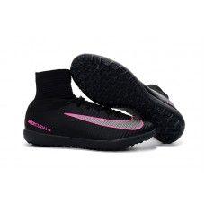 Shop Nike MercurialX Proximo II online - Black MetallIndoor Silver Pink Nike  MercurialX Proximo II Turf Soccer Cleats 3b07e4a75f35a