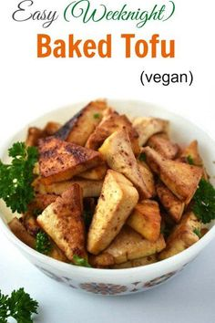 Woman in Real Life:The Art of the Everyday: Easy Weeknight Baked Tofu & How To Cut Tofu Into Triangles
