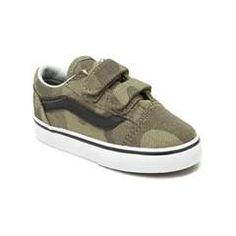 Toddler Vans Old Skool V Camo Skate Shoe