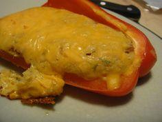 Cornbread Stuffed Peppers