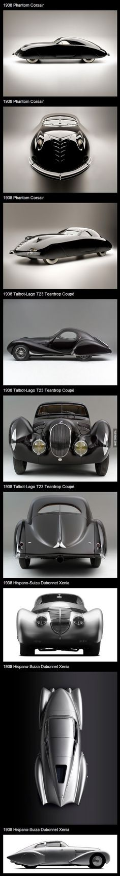 Concept cars from 1938