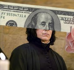 Snape for dollas
