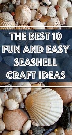 Wondering what to do with all those beautiful seashells you found on your Ocean Isle Beach vacation? Why not turn those seaside treasures into charming keepsakes. Today we have ten fun and easy seashell projects to inspire you. Seashell Painting, Seashell Art, Seashell Crafts, Sanibel Island Shells, How To Make Something, Seashell Projects, Ocean Isle Beach, Sea Crafts, Sea Glass Beach