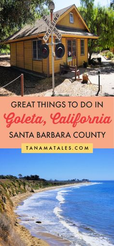 Things to do in or near Santa Barbara, #California - Twelve miles north of Santa Barbara, you will find the city of #Goleta, a haven for those looking for beaches, culture and gastronomic variety.  I show you where to find the best beaches, golf courses, restaurants and breweries.  This is an ideal place to visit as a half or full-day trip from #SantaBarbara #SouthernCalifornia