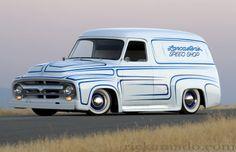55 ford panel - rick amado
