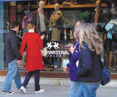 La Martina polo style shop. Buenos Aires.