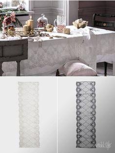 Vintage Tischläufer für Hochzeit mieten  weddstyle