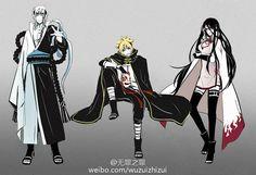 Naruto: Boruto Uzumaki , Sarada Uchiha , Mitsuki