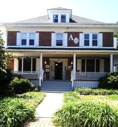 my BEAUTIFUL sorority house at University of Delaware