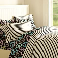 girls doodle bedding