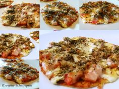 pizzetas Queso, Vegetable Pizza, Mashed Potatoes, Meat, Chicken, Vegetables, Ethnic Recipes, Food, Cookers