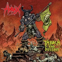 "Now at Dead Tank! Hirax ""Thrash and...! Free shipping on US orders over $60! Order at http://deadtankrecords.com/products/hirax-thrash-and-destroy-2xlp?utm_campaign=social_autopilot&utm_source=pin&utm_medium=pin"