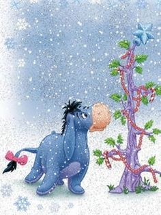 Winnie The Pooh Quotes Joker Quotes In Urdu Eeyore Quotes, Winnie The Pooh Quotes, Disney Winnie The Pooh, Tigger Disney, Winnie The Pooh Christmas, Disney Christmas, Eeyore Pictures, Eeyore Images, Pooh Bear