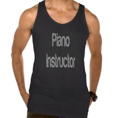Piano Instructor Extraordinaire American Apparel Fine Jersey Tank Top Tank Tops
