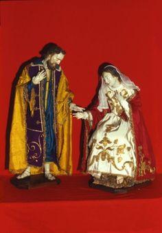 giuseppe e maria, manichini, Cerignola, Italia, arte sacra del 700.