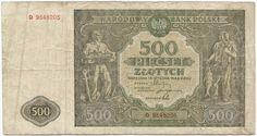 500 Zlotych 1946 (Seefahrt- und Fischfang) Polen Volksrepublik