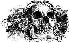 skull wallpaper desktop background imagem caveira11