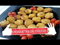 CROQUETAS DE COCIDO sin leche ni pan, cocina de aprovechamiento - YouTube Coco, Ethnic Recipes, Youtube, Spices, Milk, Food Recipes, Cook, Hands