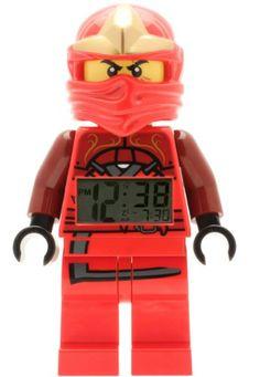 LEGO Ninjago Wecker - Kai  http://www.meinspielzeug24.de/lego-ninjago-wecker-kai  #Junge #Uhren/Wecker
