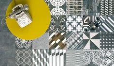 Patricia Urquiola's Azulej, a cement tile created for Mutina