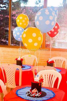 Vai fazer uma festa para seu filho e sua filha juntos?? Olha como ficou linda esta Festa Circo decorada por Pink Ateliê de Festas. Lindas ideias e muita inspiração! Bjs,...