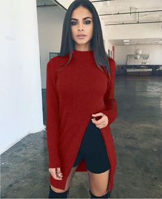 Sweater Women Pullovers Knitted Casual Long Sleeve Cashmere Sweaters O-Neck Plus Size Pullover