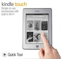 I'm learning all about Kindle Touch at @Influenster! @AmazonKindle