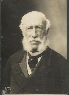 Georg Herbert zu Munster (1820-1902) ambassadeur d´Allemagne a Paris. Collection Felix Potin