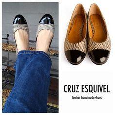 Última semana del año ⏰ #handcrafted #handmade #leather #cruzesquivel #ballerinas #flatshoes #casual #weloveballerinas