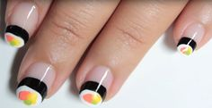 Something's fishy! Oh wait, it's your sushi manicure