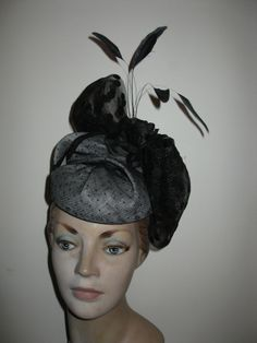#millinery by Elaine Mergard