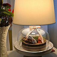 Seasonal Cloche Lamp