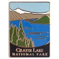 Crater Lake National Park Marche Randonnée STICK Medallion-OREGON