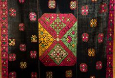 In Vintage Sari Bagh Phulkari Border Antique Embroidered Trim Sewing Deco Lace Superior Quality