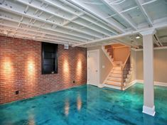 painted basement floorsHow to Level Uneven Concrete Floors for Maximum Flatness  DIY